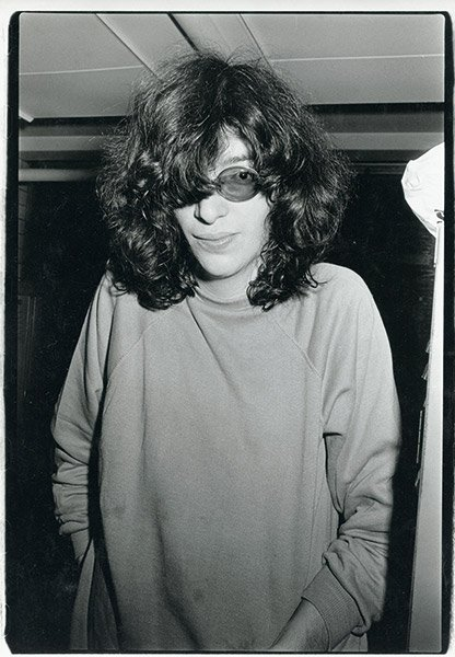 I collect pictures of Joey Ramone without sunglasses (or ...