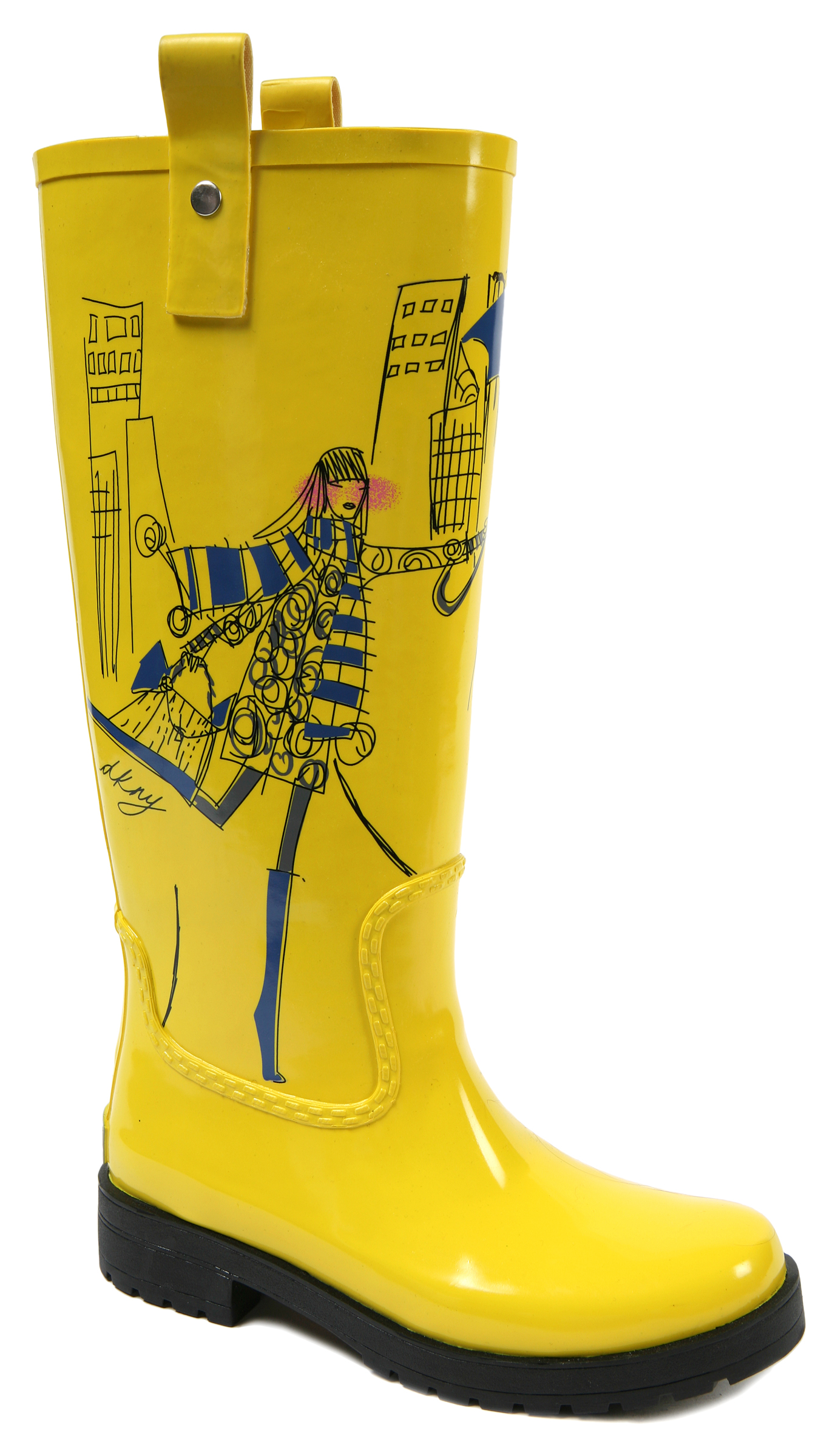 streets of paris yellow rain boots qty 37 00 size us 3 4